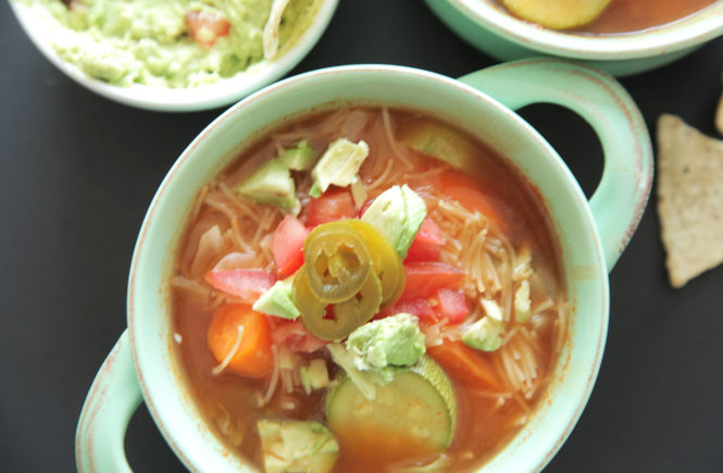 Vegan Mexican Vegetable Soup