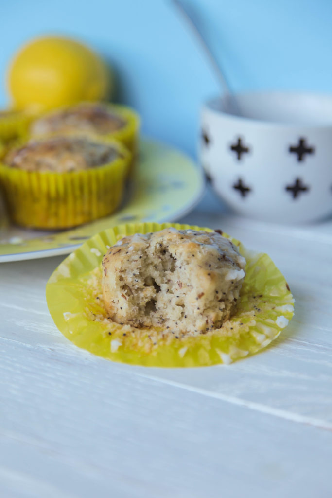 Lemon Poppyseed Muffins Vegan