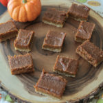 Pumpkin Pie Bars (Vegan)